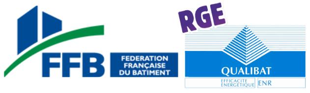 Logos de certification FFB et RGE